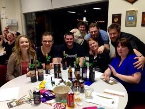 The winners from HWCI's trivia night fund-raiser for Anwaf