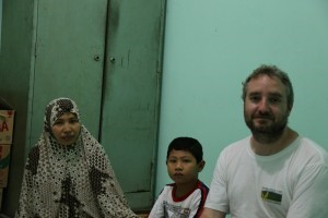 Handle With Care International with Halimah and 7 Year old Anwaf